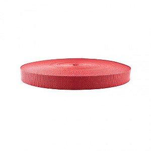 Rolo De Fita Para Cinto Vermelho Com 50m