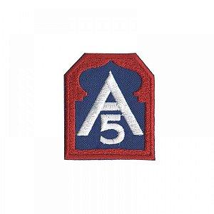 Patch Bordado Com Fecho De Contato A5- Exército