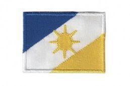 Patch Bordado Com Fecho De Contato Bandeira Tocantins