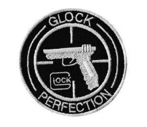Patch Bordado Com Fecho De Contato Glock