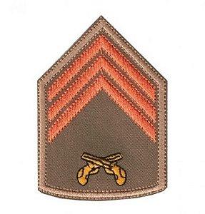 Divisa Bordada 3° Sargento Pmsc