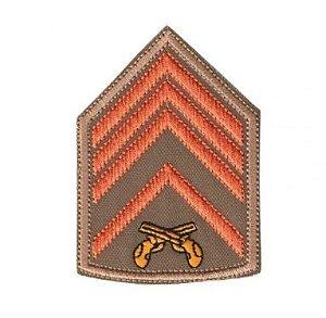 Divisa Bordada 2° Sargento Pmsc