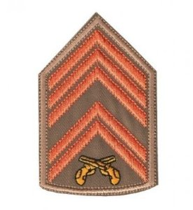 Divisa Bordada 1° Sargento Pmsc