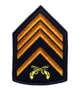 Divisa Bordada 2° Sargento Pmrs