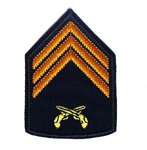 Divisa Bordada 3° Sargento Pmrs