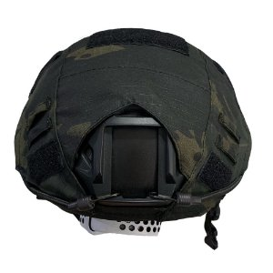 Capa De Capacete Tático Airsoft Paintball Multicam Black
