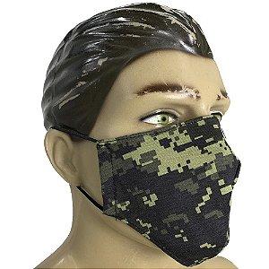 Máscara Tecido Dulpo 100% Algodão - Digital Pântano