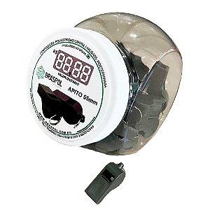 Kit Pote Com 20 Apitos De 55mm