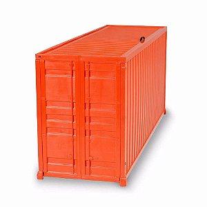 Mini Container Multiuso Treme Terra Laranja
