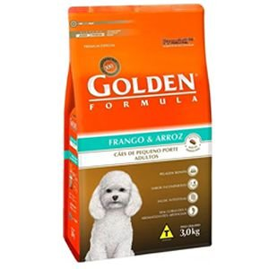 Ração Golden Fórmula Cães Adultos Mini Bits Sabor Frango e Arroz 3Kg