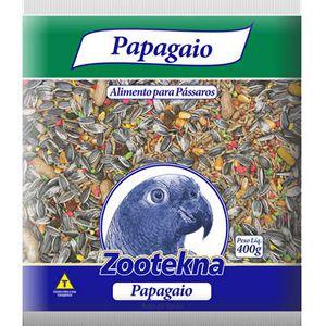 ZOOTEKNA MISTURA PAPAGAIO COM FRUTAS 400 GR