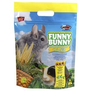 FUNNY BUNNY CHINCHILA E PORQUINHA DA INDIA - 700 gr.