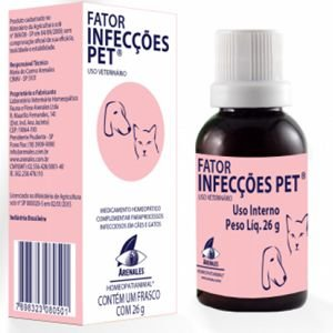FATOR INFECÇOES ARENALES HOMEOPATIANIMAL 26 GR