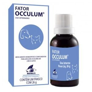 FATOR OCCULUM ARENALES HOMEOPATIANIMAL 26 GR