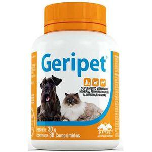 Suplemento Geripet Vetnil 30 Comprimidos