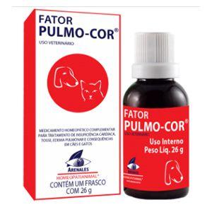 Fator Pulmo-Cor Arenales Homeopatianimal 26G