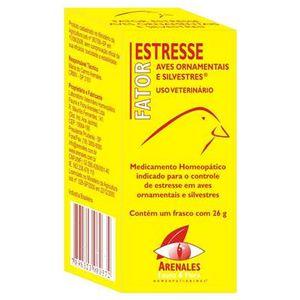 Fator Estresse Aves Ornamentais e Silvestres Arenales Homeopatianimal 26G