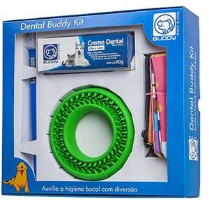 Dental Buddy Kit - Dental Buddy / Creme Dental / Escova e Necessaire