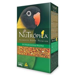 Nutropica Agapornis com frutas 300gr