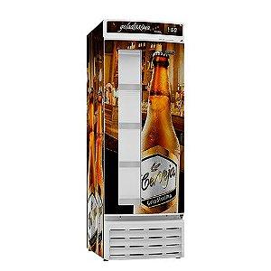 Refrigerador Esmaltec CV520R com Visor Adesivado  -  110v