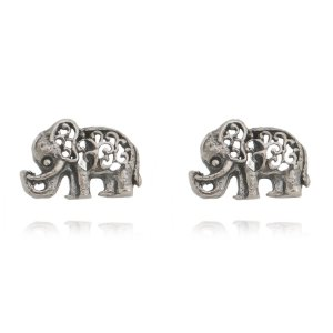 Brinco Elefante prata 925