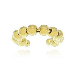 Piercing esferas bolinhas Folheado em Ouro 18k