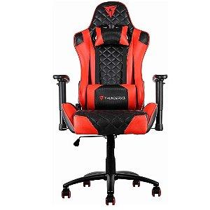 Cadeira Gamer Preta/Vermelha Reclinável THUNDERX3 TGC12 120 kg