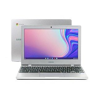 Notebook Samsung Chromebook Dual-Core 4GB 32GB Google Chrome OS, 11.6'