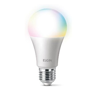 Lâmpada Smart Led RGB A60 Inteligente Alexa Colorida Controle de Voz