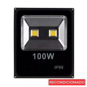 Refletor Led 100w Ip66 - Branco Frio