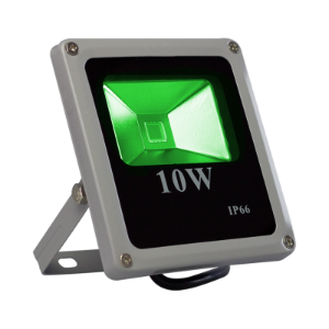 Refletor Led Verde 10w Slim
