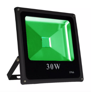 Refletor Led Verde 30w Slim