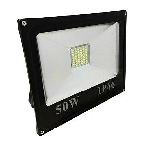 Refletor LED Holofote 50w Branco Frio IP66