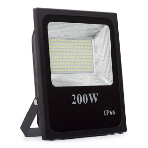 Refletor LED Holofote 200w Prova D'Água Branco Frio