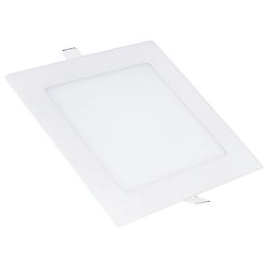 Kit 2 Painel Plafon Led Branco Frio 12w Quadrado Embutir