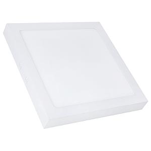 Kit 5 Painel Plafon Led 25w Quadrado Sobrepor - Branco Frio