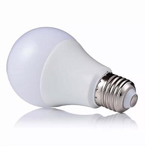 Kit 10 Lâmpada LED 7w Bulbo Plástico Econômico Branco Frio