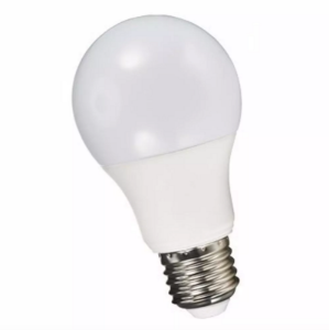 Lâmpada LED 12w Bulbo Plástico Econômico Branco Frio