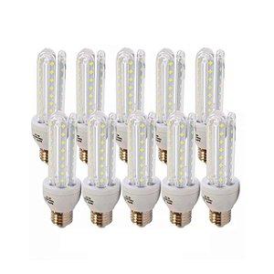 Kit 10 Lâmpada de Led Milho Nova 12w - Branco Frio