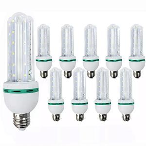 Kit 10 Lâmpada de Led Milho 16w - Branco Frio