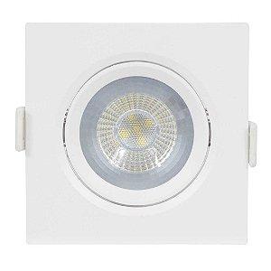Spot LED 12w SMD Bivolt de Embutir - Branco Frio