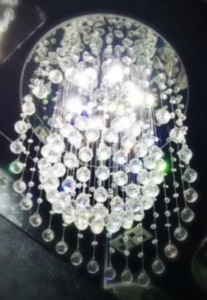 Lustre Luminária Led de Cristal para Sala de Jantar