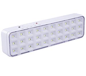 Luminária de Emergência 30 LEDs Bivolt