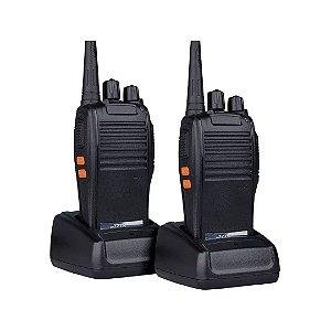 Kit 2 Rádio Comunicador Profissional 16 canais 4km 777s