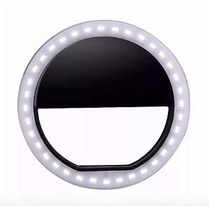 Luz para Selfie Ring Led Recarregável