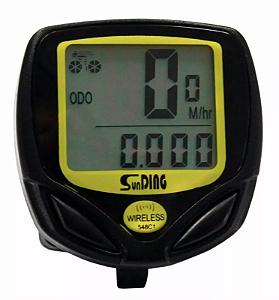 Velocímetro Digital Odômetro Sem Fio