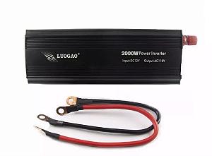 Inversor Veicular Conversor de Tensão 12v para 110V 2000w
