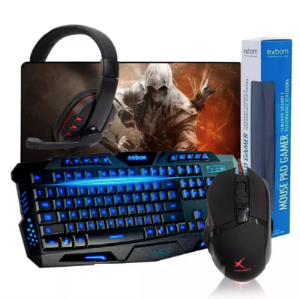 Teclado G35 + Mouse Extreme + Mouse Pad + Fone Gamer 9700
