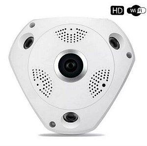 Câmera de Segurança Panorâmica - Vr Cam