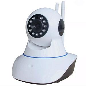 Kit 2 Câmera Ip Ir Wireless Visão Noturna - 2 Antenas